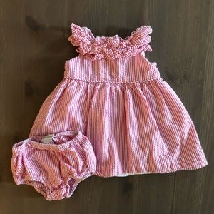 Ralph Lauren Dress w/ Bloomers, Size 3 Months